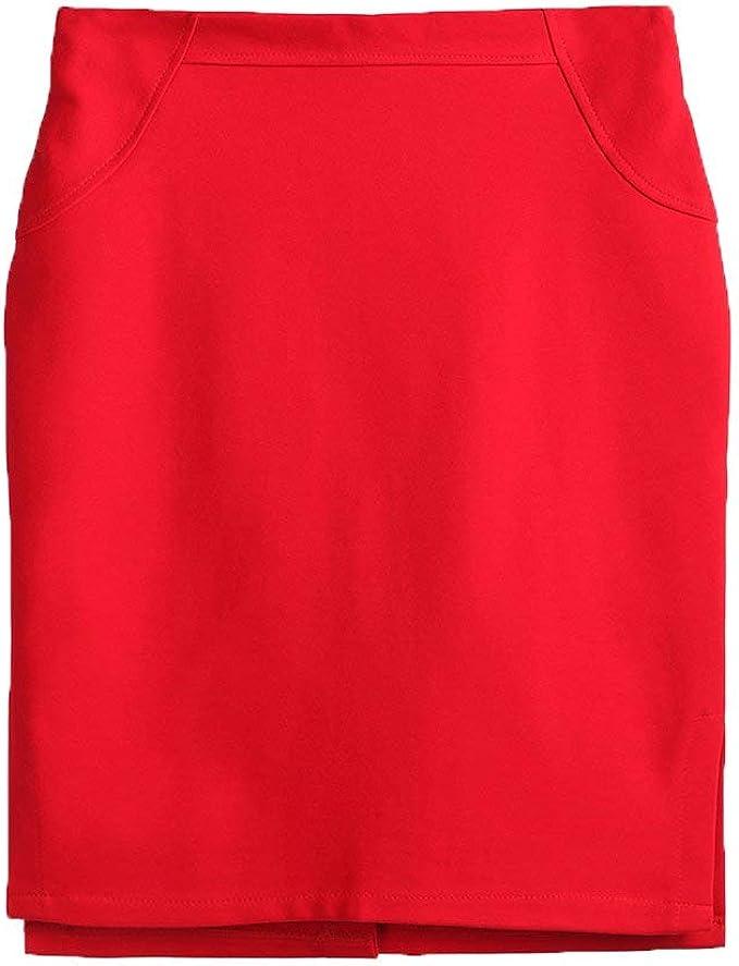 Faldas para Mujer Casual Moda De Único Verano para Falda Mujer ...