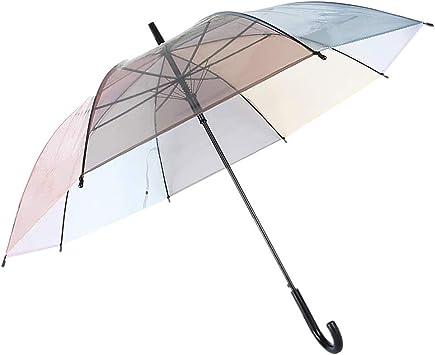 Stockschirm Transparent Damen Herren Groß Regenschirm Durchsichtig Ø101 Hochzeit
