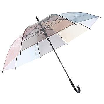 sélection premium 7663c 193ac Lonior Parapluie Transparent Grande Resistant Vent ...