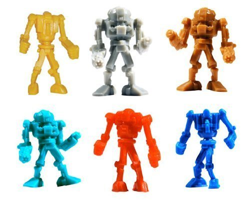 Warbots - TINY Robot Toy Figures - Lot of 50 (Robot Figurine)