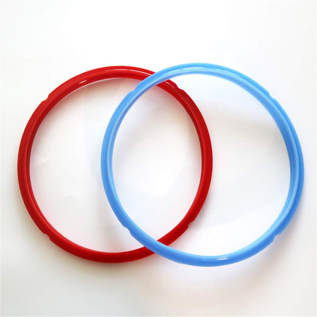 77JOK Silicone Sealing Ring for 6QT Instant Pot Replacement Silicone Gasket Seal Leak Proof Pressure Cooker Seals House Kitchen Essential Accessories Sealing Ring Silicone Gasket 2 Pack
