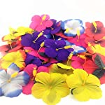72-Pack-Sc0nni-Hibiscus-Flowers-for-Tabletop-Decoration-Party-Favor-Party-Decoration-Confetti-Party-Favors