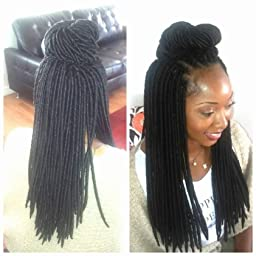 Crochet Hair Amazon : Amazon.com : Janet Collection Synthetic Hair Crochet Braids 2X Havana ...
