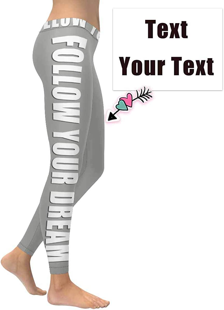 2XS-5XL InterestPrint Custom Unique Stretchy Leggings Skinny Pants for Yoga Running Pilates Gym