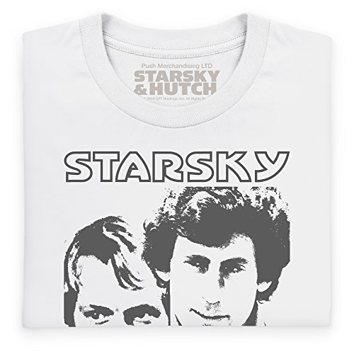 Official Starsky And Hutch Portrait, Para mujer Blanco