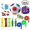 Fidget Toys,Mofawo 13 Pack Bundle Sensory Fidget Toys Set-Bike Chain,Marble Fidget Toys,Rainbow Magic Stress Balls,Squeeze-a-Bean Soybeans for Autism Children by Mofawo that we recomend personally.