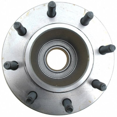 ACDelco 18A957A Advantage Non-Coated Front Disc Brake Rotor and Hub Assembly