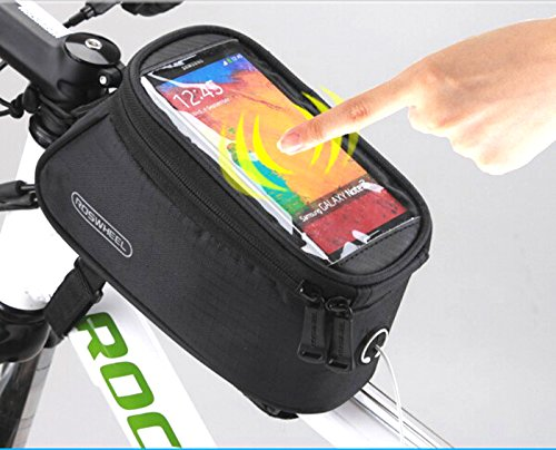 Roswheel 2013 New Waterproof Bicycle Cycling Frame Pannier F