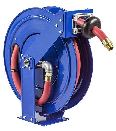Coxreels Ez Tshf 550 Safety System Spring Driven Fuel Hose Reel 3 4  X 50 300 Psi