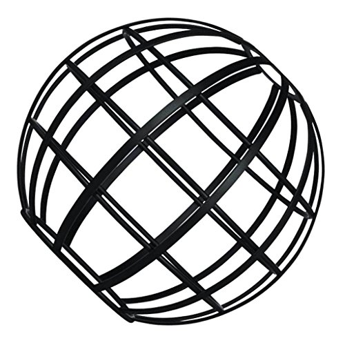 Westinghouse 8101900 Globe Cage Shade, Matte Black (Replacement Globes Fixture Light)