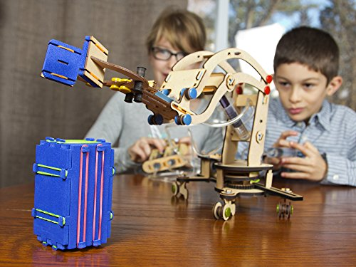 Smartivity Pump It Move It Hydraulic Crane - S.T.E.M., S.T.E.A.M. learning, Ages 8 Years and Up by PlaSmart (Image #2)