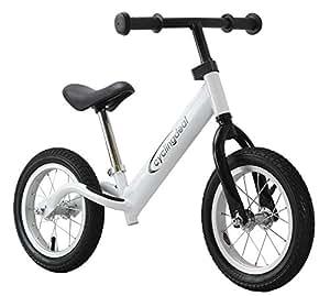 "Kids Child Push Balance Bike Bicyle 12"" White"
