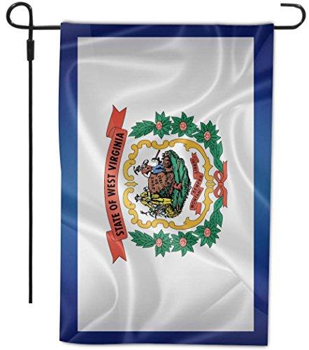 Rikki Knight West Virginia State Flag Design Decorative H...