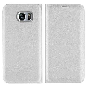 Flip Funda de Cuero Billetera para Samsung Galaxy S8 S9 Plus ...