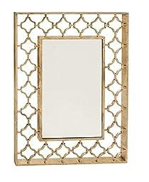 Deco 79 67066 Metal Wall Mirror, 38\