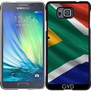 DesignedByIndependentArtists Funda para Samsung Galaxy Alpha - Bandera De Sudáfrica by Carsten Reisinger