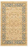 Unique Loom Edinburgh Collection Oriental Traditional French Country Champagne Area Rug (3' x 5')