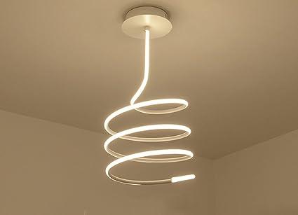 Zhdc lampade da soffitto postmodern simple led studio di