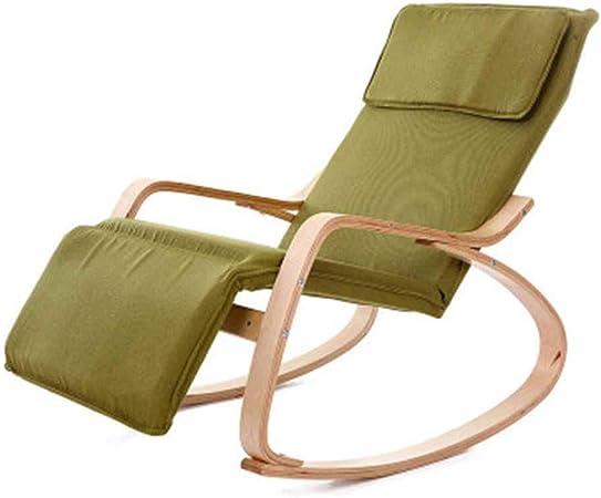 Chair-M Mecedora Relax de Madera Mecedora Silla de salón Sillones ...