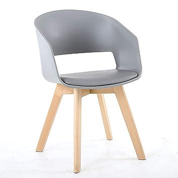 Rétro Chaise Noir En Plastique Blanc Gris xodCBeQrW