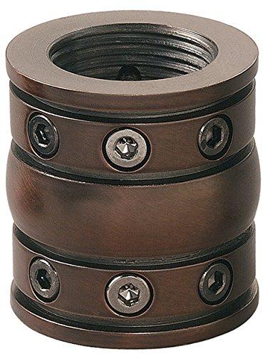 Kichler 337007CZ, Downrod Coupler, Carre Bronze