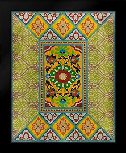 - Wallpaper Collage II 28x36 Modern Black Wood Framed Art Print by Zarris, Chariklia