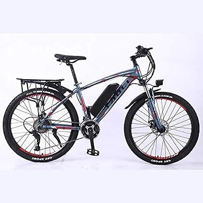 BWJL Aleación de Aluminio de Bicicleta de montaña Bicicleta eléctrica de Litio-accionado Mediante Ebikes de montaña, batería extraíble 26 350W 36V 13Ah Ebike de Litio Hombre de la montaña,ro.: Amazon.es: Deportes y