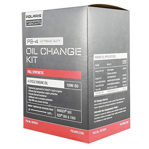 Polaris Extreme Duty Oil Kit 2879324 (Best Oil For Polaris Rzr 900 Xp)