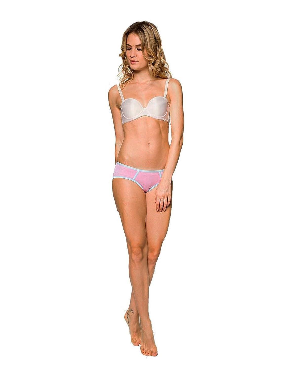 7b6b71ba1b67 Nukleus Ladies' Panties Hiphuggers Premium Organic Cotton Top Comfort Plain  at Amazon Women's Clothing store: