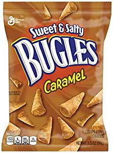 Sweet & Salty Caramel Bugles Snack, 7 - 3 5oz Bags