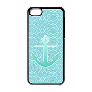 linJUN FENGProtection Cover Hard Case Of Blue Chevron Anchor Cell phone Case For ipod touch 5