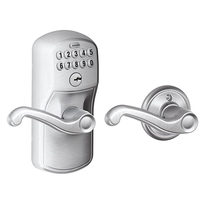 SCHLAGE FE575PLY626FLA Plymouth Flair Lever Keyed Entry Auto El