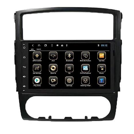 TOPNAVI Octa Core Android 8.1 - Mesa para Mitsubishi Pajero 2010, navegador GPS para Coche