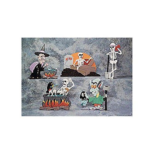 Woodworking Project Paper Plan to Build Halloween Intarsia Patterns II ()