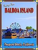Balboa Island Newport Beach California United States Trvel Advertisement Poster