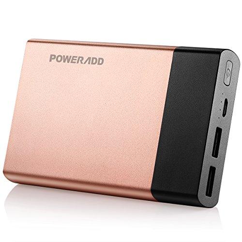 Portable Charger Poweradd 10000mAh Aluminum