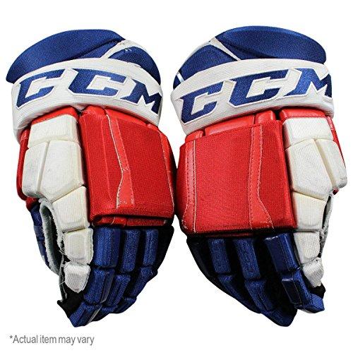 Marek Hrivik New York Rangers 2016-17 Season Game Used #46 CCM Gloves