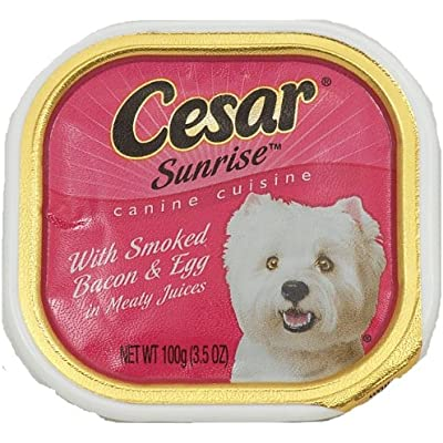 Cesar Sunrise Smoked Bacon & Egg Canine Cuisine