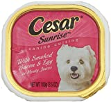 Cesar Sunrise Smoked Bacon & Egg Canine Cuisine Review