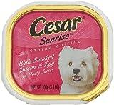 Cheap Cesar Sunrise Smoked Bacon & Egg Canine Cuisine
