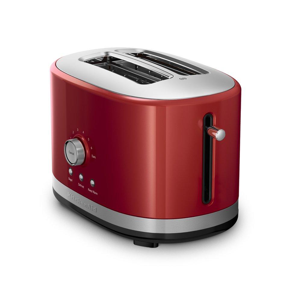 kitchenaid kmt2116er 2 slice slot toaster with high lift lever empire red ebay. Black Bedroom Furniture Sets. Home Design Ideas