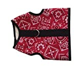 Kitty Holster Cat Harness, Small/Medium, Red Bandana