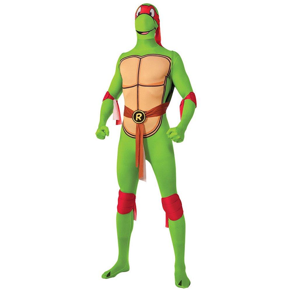 Disfraz De Tortuga Ninja 2ª Piel (Raphael) - Medium: Amazon ...