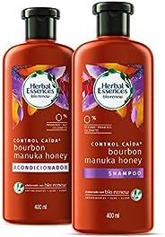 Herbal Essences Pack Herbal Essences Bíorenew Shampoo Y Acondicionador Bourbon & Manua Honey De 400ml, Pac