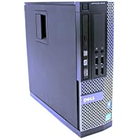 Dell Optiplex 9010 SFF Desktop PC - Intel Core i3-3225 3.3GHz 8GB 128GB SSD DVD-RW Windows 10 Professional (Certified Refurbished)
