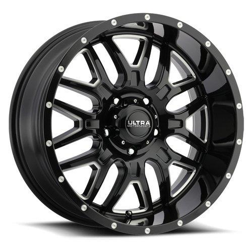 Ultra 203BM Hunter 18×9 6×139.7 +18mm Black/Milled Wheel Rim