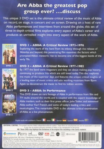 Abba The Ultimate Review 3DVD Set