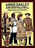 Annie Oakley and Buffalo Bill Paper Dolls in Full Color