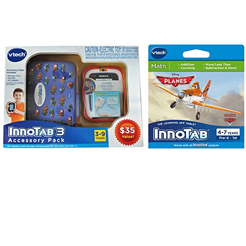 VTech - VTech Innotab 3 Accessory Pack and Disney Planes Software