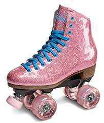 Sure-Grip Stardust Glitter Roller Skate is a perfect skate for indoor or outdoor skating. Features a fantastic boot the is FULL with glitter and contrasting laces and eyelets, also the famous indestructible ROCK nylon plate, Sure-Grip special...